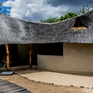 Patio & Change room, Munga Eco Lodge